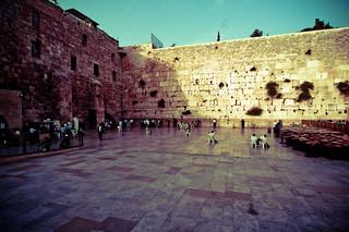 Jerusalem Muslim Western Wall   by Satoshi Onoda