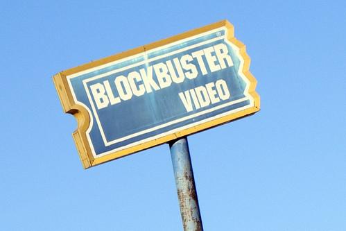 Distressed Blockbuster Video Sign | by trebomb