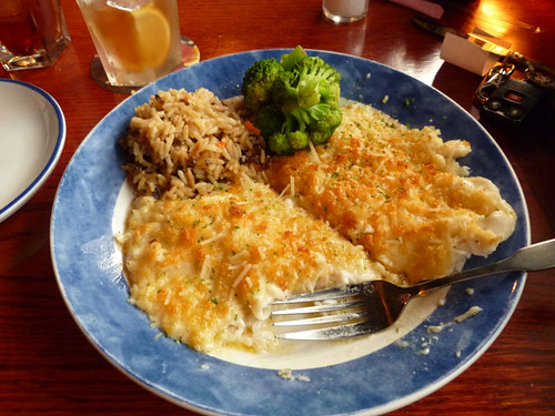 Parmesan Crusted Tilapia | by Richard Elzey