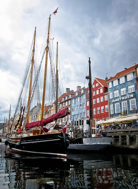 Portrait view, Nyhavn