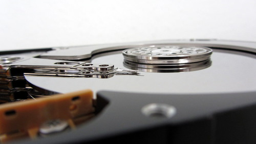Hard disk drive | by Christiaan Colen