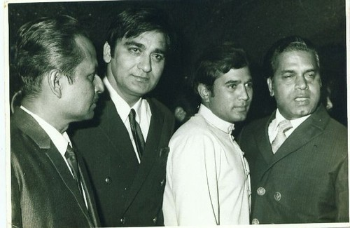 Rajesh Khanna's Birthday Party Dec. 29, 1970