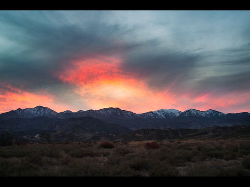 sunset sky mountains gabriel landscape san surreal 2010 filigree muzzlehatch