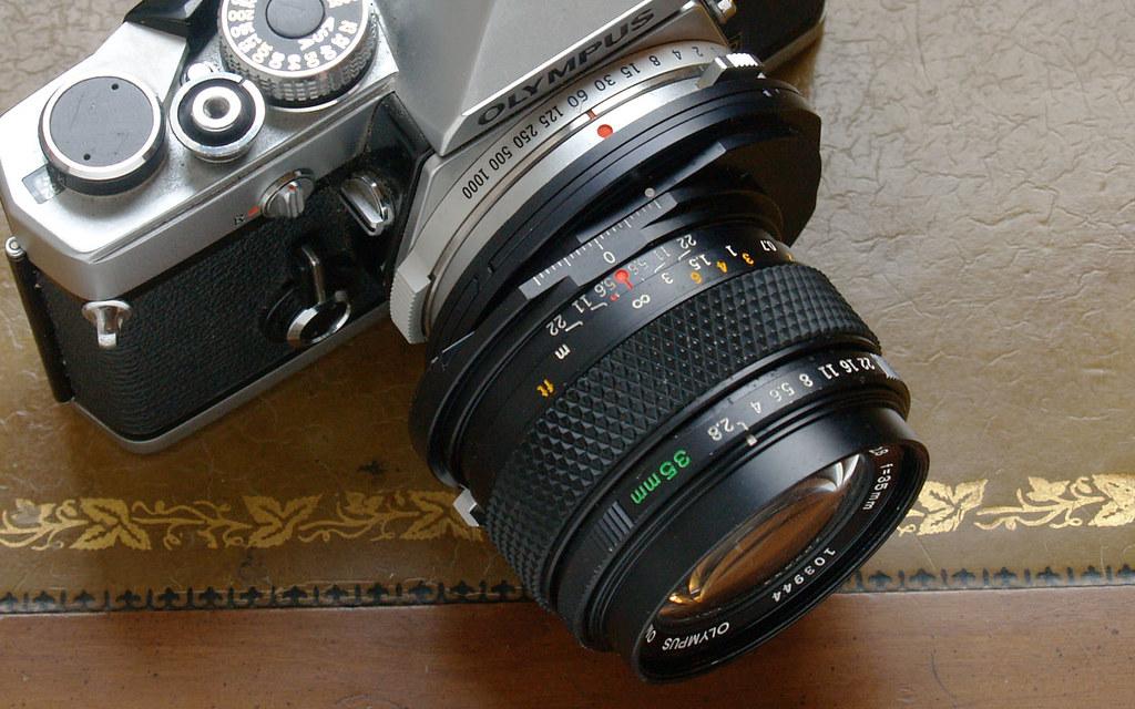 Olympus 35mm f/2 8 Zuiko Shift Lens | A lens I found for $50