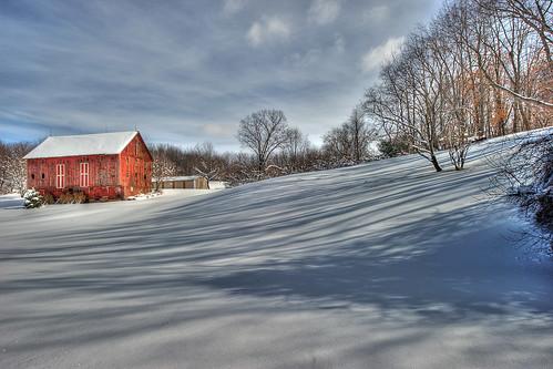winter ohio snow barn rural landscape geotagged nikon raw nef rustic hdr photomatixpro ruralohio massillonohio d3s starkcountyohio nikkor1424 nikongp1 pvpotd