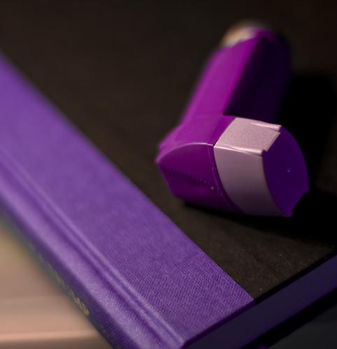 book purple violet puff depthoffield allergies asthma inhaler nikkor50mmf14d seretide project365 diagonalline salbutamol nikond90 yahoophilippines purplebook michaeljosh boybehindthelens bedsidebuddy asthmamedicine salmeterolfluticasone thetrumpcard yahoopurplefriday