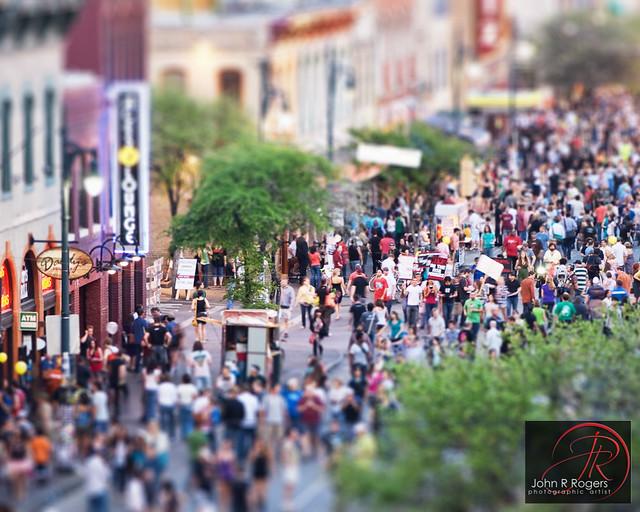 SXSW 6th Street, Austin Texas