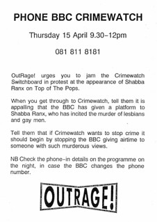 flyer-phone-bbc-crimewatch | by outragelondon