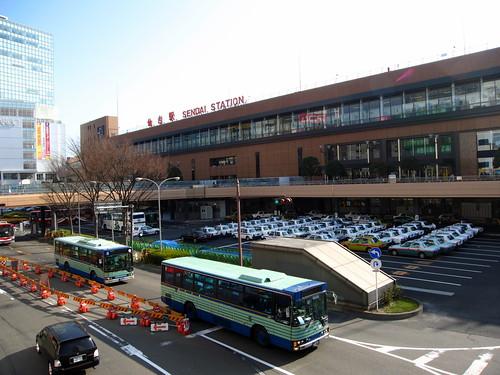 Sendai JR Station   by Kwong Yee Cheng