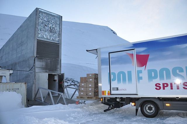 500000th Seed Accession at the Svalbard Global Seed Vault