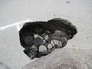 US 2 sinkhole west of Snohomish - May 2010 | by WSDOT