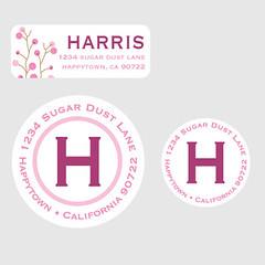 Sakura-Address-Labels