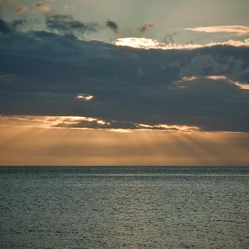 sunset beach portsmouth caribbean rays dominica caribbeansea westindies caribbeanisland