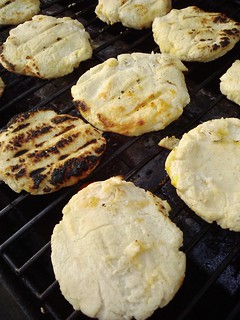 arepas on the grill! | by the queen of subtle
