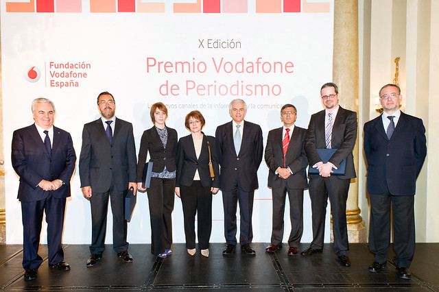 X Premios de Periodismos de la Fundación Vodafone España