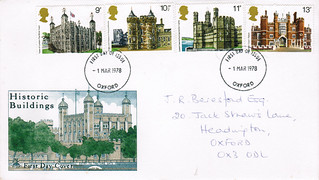 1-Mar-1978 UK First Day Cover