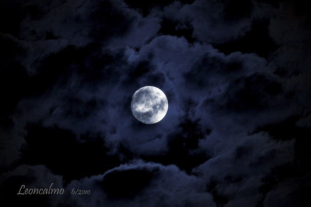 E la Luna spuntò.......