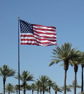 U.S. Flag   by Dru Bloomfield - At Home in Scottsdale