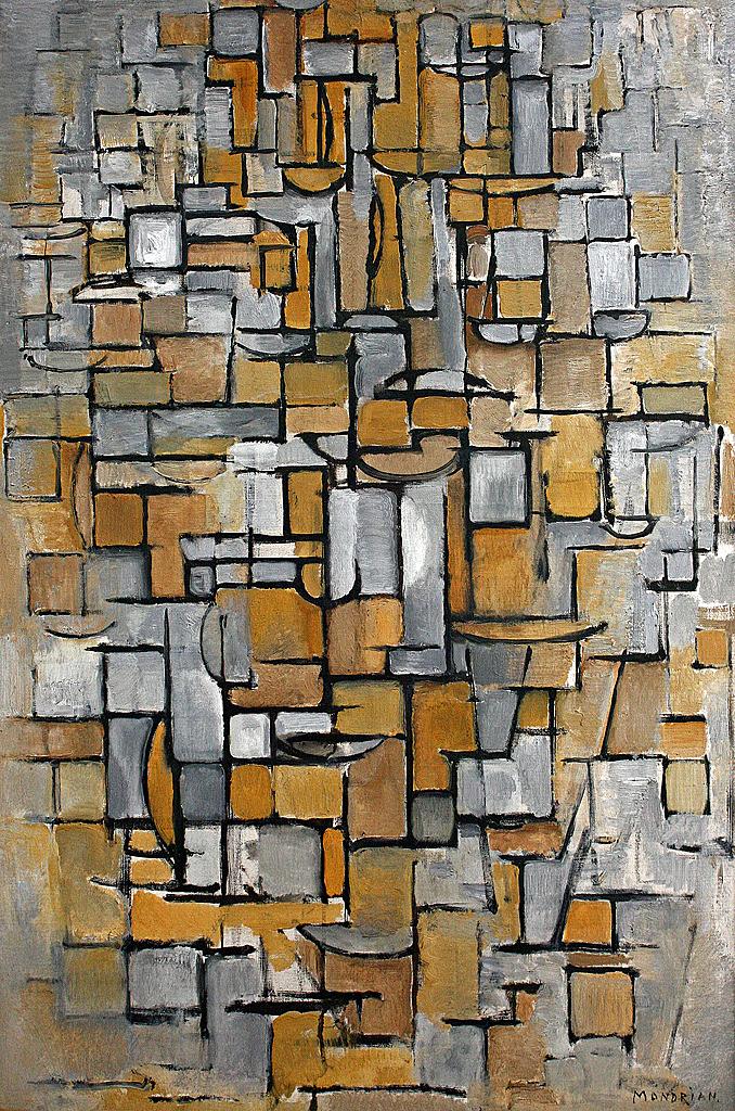 Piet Mondriaan Tableau No 1 Piet Mondriaan 1872 1944