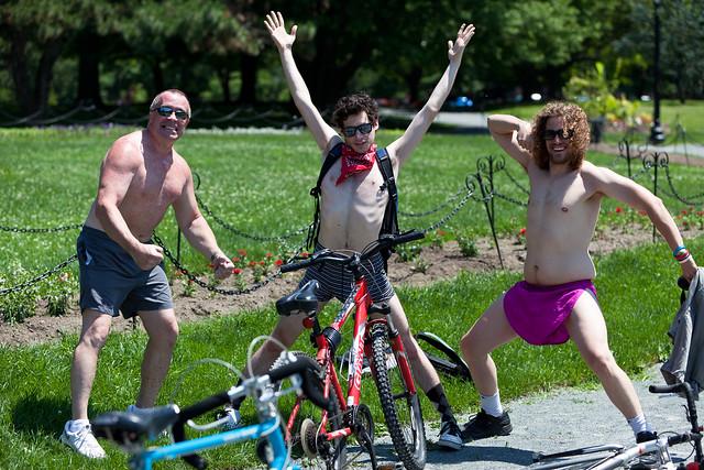 World Naked Bike Ride - Albany, NY - 10, Jun - 12