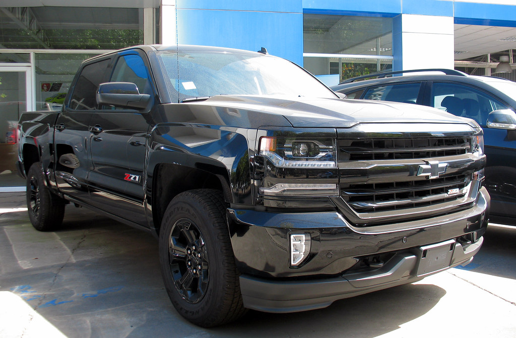 Chevy Midnight Edition >> Chevrolet Silverado Ltz Z71 Midnight Edition 2017 Rl Gnzlz