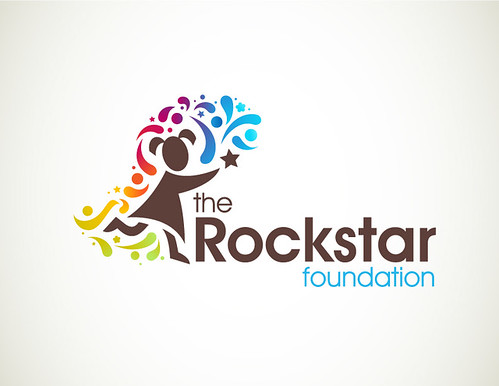 Chosen logo design for The Rockstar Foundation | by Veerle Pieters