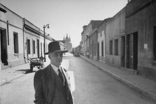 Don Clotario 1950, calle Santa Isabel de Santiago