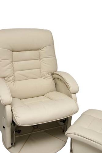 Cream Simply Fabulous Glider Chair