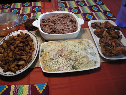 food spread 2