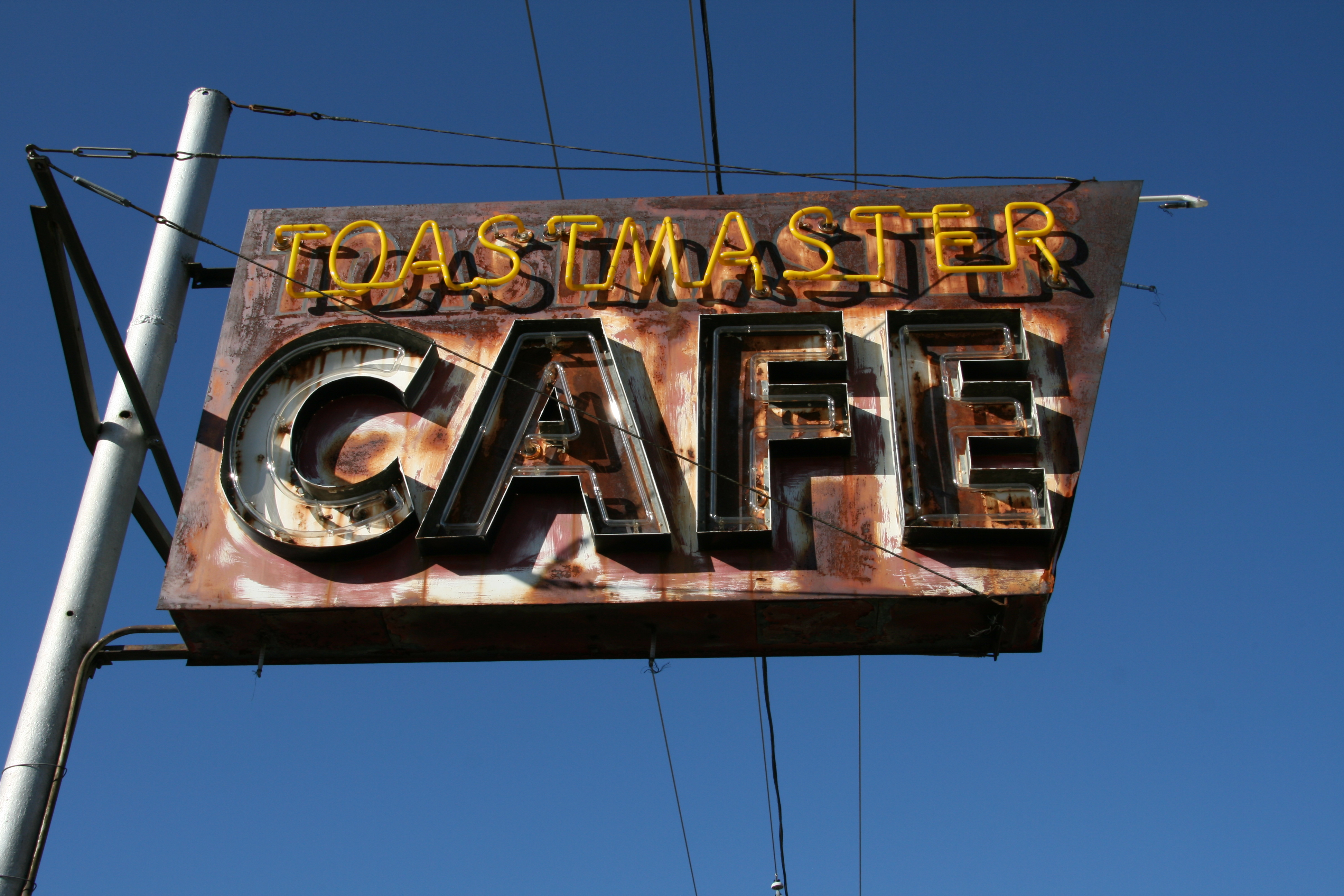 Toastmaster Cafe - Globe, Arizona U.S.A. - October 14, 2008