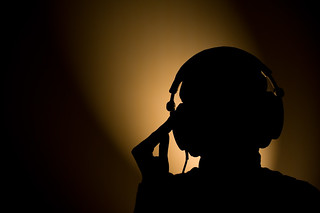 headphone silhouet | by Philippe Put