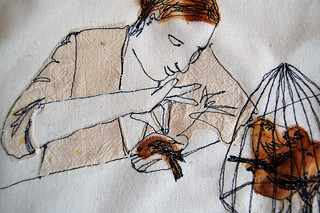 wip seamstress detail | by Jenny Mccabe