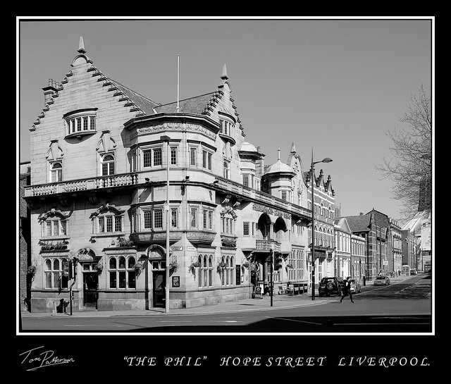 THE PHILHARMONIC PUB. Please view large.