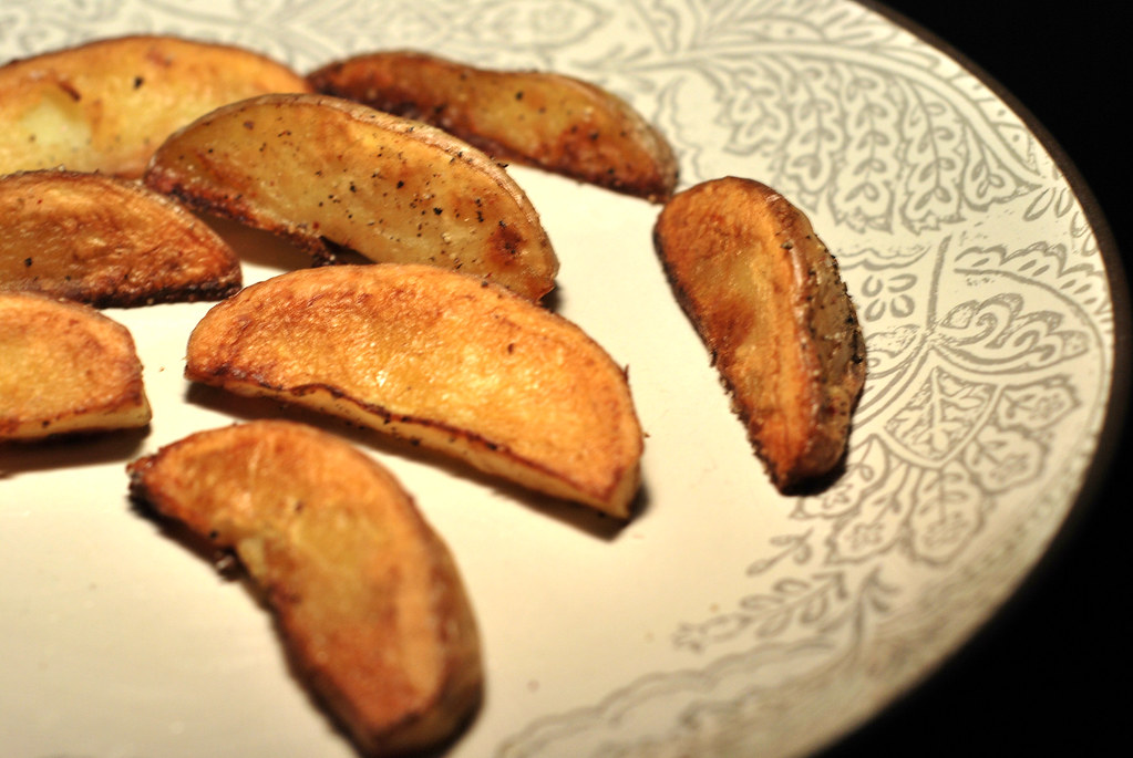 potato wedges by Michael W. May