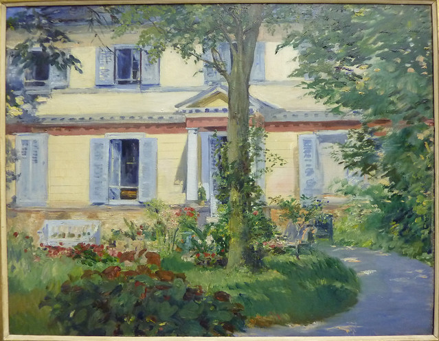 Edouard Manet: The house at Rueil (1882)