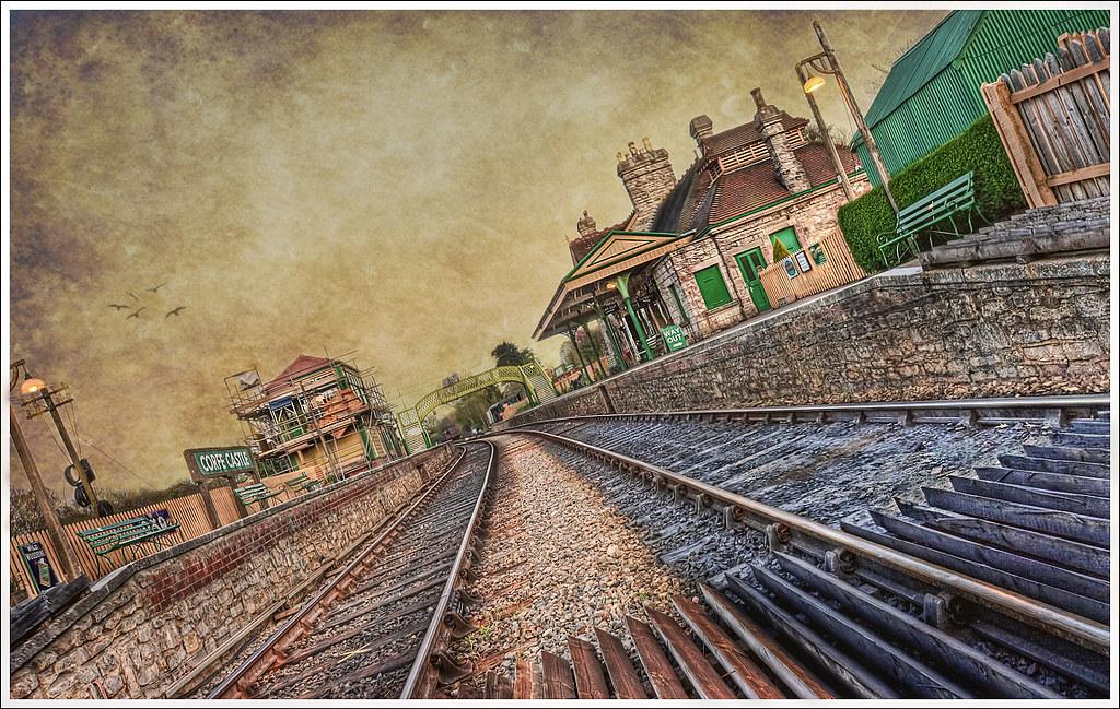 145/365 - HDR - Corfe.Castle.Train.Station.II.Texture.@.1150x766 by Pawel Tomaszewicz