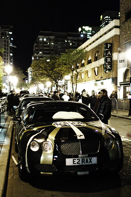 Bentley Continental GT - Gumball 3000 Toronto