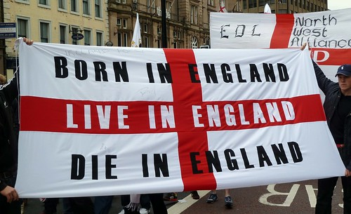 English Defence League march in Newcastle | by Gavin Lynn