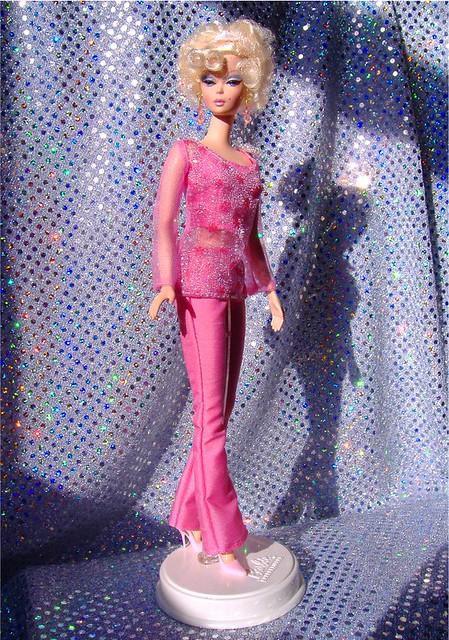 Priscilla in pink FA slacks #1