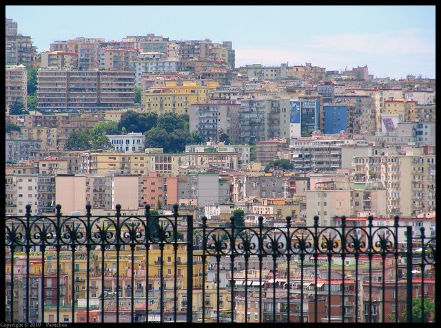 Colors of Naples - View from Capodimonte  1/2