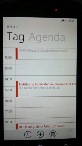 Windows Phone 7 Calendar | by Luca Hammer