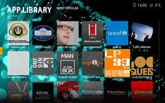 Boxee beta screenshot | by cubicgarden