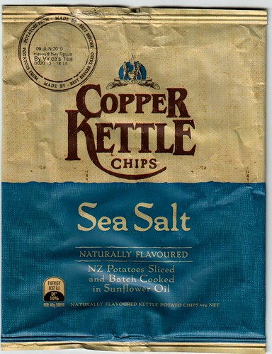 Copper Kettle Chips -- front | by saniac