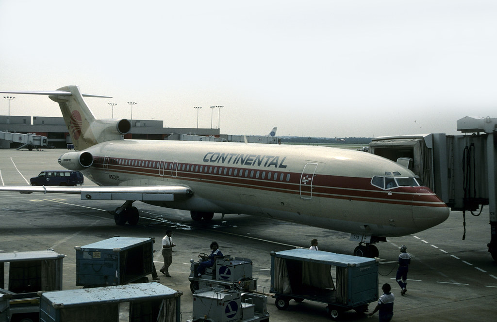 Boeing 727: 21045 727-227 N563PE Continental Atlanta Harts… | Flickr