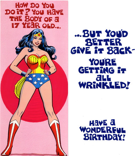 1978 Superman & Friends Greeting Cards   by andertoons
