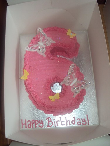 6th Birthday Cake | by Rebecca's Cakes (North London, Middx and Herts)