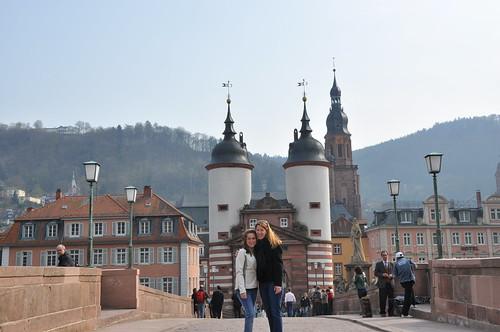 Alexa & me on the bridge   by elysia1