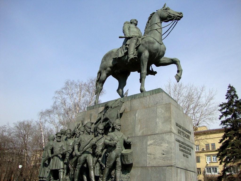 Kết quả hình ảnh cho Tượng Kutuzov
