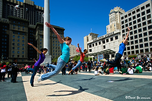Bay Area National Dance Week Kick-off Event 2010 | by davidyuweb