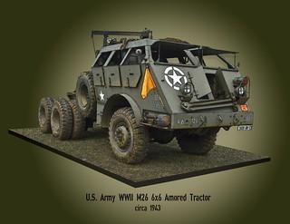 M26 Tank Transporter Tractor